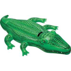 Крокодил Intex с держателем 203х114 см от 3 лет 58562