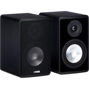 Полочная акустика Canton Ergo 620 black напольная акустическая система canton ergo 670 wenge