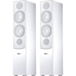 Напольная акустическая система Canton GLE 476, white (white fabric cover)