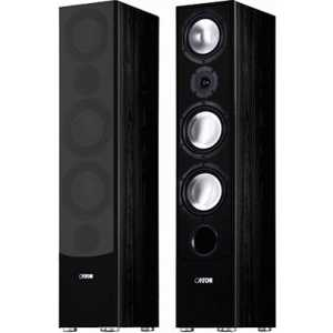 Напольная акустика Canton GLE 490.2 black центральный канал canton cd 1050 black high gloss
