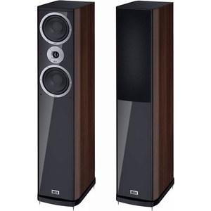 Напольная акустическая система Heco Music Style 500, black/espresso