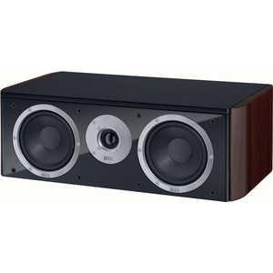 Акустическая система центрального канала Heco Music Style center 2, black/espresso акустика центрального канала heco elementa center 30 white satin