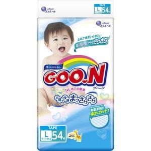 Подгузники Goon 9-14кг L 54шт 4902011751345