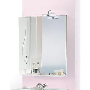 Зеркало-шкаф Aqwella Глория со светильником (GL.02.07) зеркало шкаф aqwella бриг дуб седой
