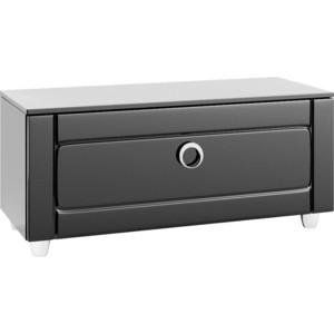 Тумба с раковиной Aqwella Инфинити напольная с ящиком черная (Inf.03.10/blk)  цена и фото