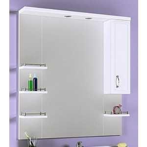 Зеркало-шкаф Aqwella Харизма с подсветкой (Kh.02.10) зеркало шкаф aqwella allegro mc 04 08
