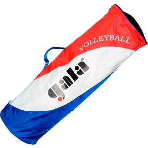 Сумка на 4 волейбольных мяча Gala 7KS1711, цвет голуб-бел-крас