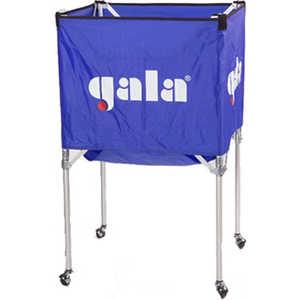 Тележка для волейбольных мячей Gala XX41009, на 25-30 шт., цвет сине-белая