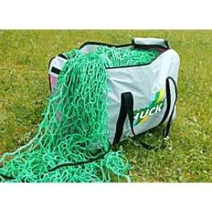 Сумка для переноски и хранения футбольных сеток Huck 1040, цвет серо-розовая