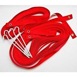 Комплект для разметки площадки для пляжного волейб Kv.Rezac 15095874, цвет красный