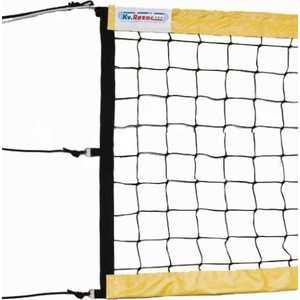Сетка для пляжного волейбола Kv.Rezac 15015898006, цвет черный тактическая доска для волейбола torres tr1001v