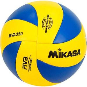 Мяч волейбольный Mikasa MVA350, размер 5, цвет сине-желтый