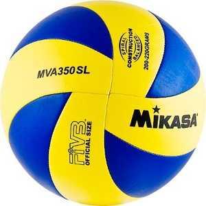 Мяч волейбольный Mikasa MVA350SL, размер 5, цвет сине-желтый