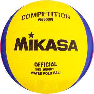 Мяч для водного поло Mikasa W6600W, размер мужской, цвет желто-сине-розовый mikasa w6600w