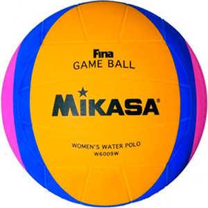 Мяч для водного поло Mikasa W6009W, размер женский, цвет желто-сине-розовый цена 2017