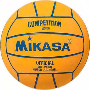 Мяч для водного поло Mikasa W6600, размер мужской, цвет желто-голубой