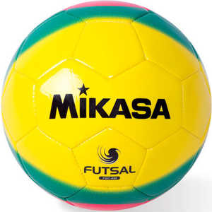 Мяч футзальный Mikasa FSC-450, размер 4, цвет жел-зел-крас