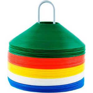 Фишки для разметки поля Mitre Space Markers (A3007), 50 шт.: цвет зеленый, красный, желтый, синий, белый