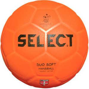 Мяч для пляжного гандбола Select Duo Soft Beach (842008-135), Senior (размер3), цвет оранжевый