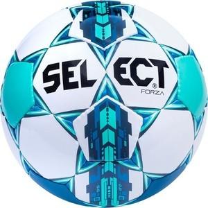 Мяч футбольный Select Forza (811108-002), размер 4, цвет бел-син-сер-чер цена