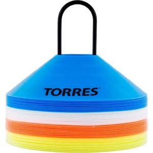 Фишки для разметки поля Torres TR1006, комплект из 40 шт.: оранжевый, желтый, синий, белый