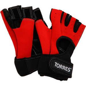 Перчатки для занятия спортом Torres (арт.PL6020L), размер L, цвет: красно-черные