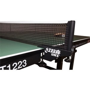 Сетка для настольного тенниса с креплением DHS P145 ITTF спортивный инвентарь next сетка для настольного тенниса t0013pe