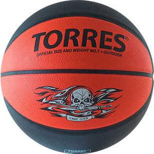 Мяч баскетбольный Torres Game Over (арт. B00117) бытовая химия glade освежитель воздуха индонезийский сандал 300 мл