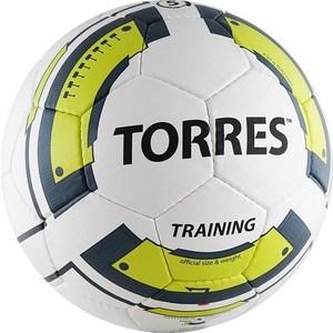 Мяч футбольный Torres Training (арт. F30055) мяч футбольный torres training цвет белый черный желтый размер 5