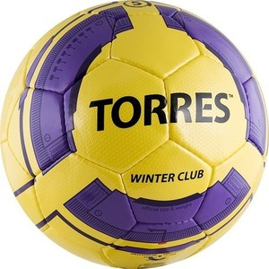 Мяч футбольный Torres Winter Club Yellow (арт. F30045YEL)