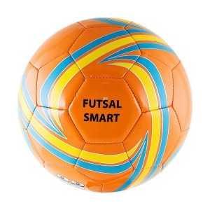 Мяч футзальный Torres Futsal Smart, (арт. F30334), размер 4, цвет: оранжево-голубо-желтый от ТЕХПОРТ