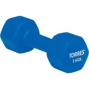 Гантель Torres 5 кг (арт. PL50015)