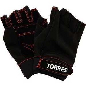 Перчатки тяжелоатлетические Torres (арт. PL6021XL), размер XL, цвет: черный
