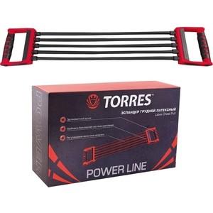 цена на Эспандер Torres (арт. PL0007), цвет: красно-черный