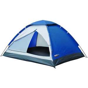 Трекинговая палатка High Peak Monodome Pu 2 (синий /серый)