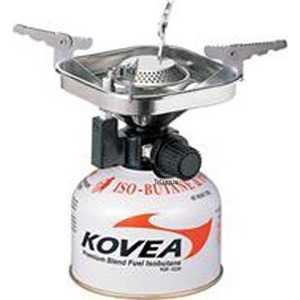 Горелка Kovea газовая Kovea (пьезоподжиг, пластиковый кейс, шланг-50см) газовый баллон kovea kovea 220 бутан пропан