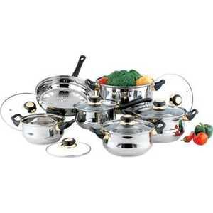Набор посуды Bekker Classik ВК-201 набор котелков ecos camp s1 походных 1 л 2 л 3 л