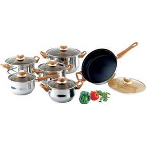 Набор посуды Bekker Classik ВК-226 набор котелков ecos camp s1 походных 1 л 2 л 3 л