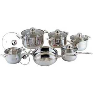 Набор посуды Bekker Jumbo ВК-271 кастрюля bekker jumbo 3 7 л вк 1256