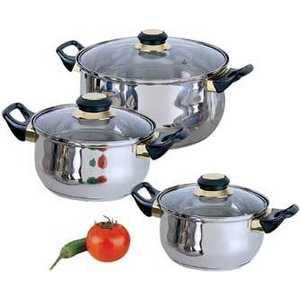 Набор кастрюль Bekker Classik ВК-950 посуда для хранения продуктов bekker 2 5 л вк 5105