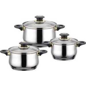 Набор посуды Bekker Jumbo ВК-962 кастрюля bekker jumbo 3 7 л вк 1256