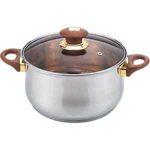 Кастрюля Bekker Jumbo 2 л ВК-1251 посуда для хранения продуктов bekker 2 5 л вк 5105