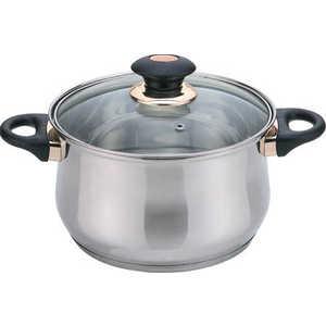 Кастрюля Bekker Jumbo 2 л ВК-1254 посуда для хранения продуктов bekker 2 5 л вк 5105