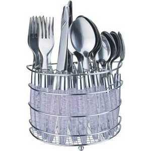Набор столовых приборов Bekker из 25-ти предметов BK-417 кухонный набор bekker bk 3239 7 предметов