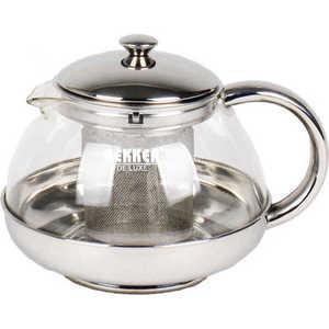 Заварочный чайник Bekker De Luxe 0,5 л ВК-397 чайник заварочный bekker 308 вк 1 25 л пластик стекло фиолетовый