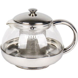 Заварочный чайник Bekker De Luxe 1 л ВК-399 чайник заварочный bekker 308 вк 1 25 л пластик стекло фиолетовый