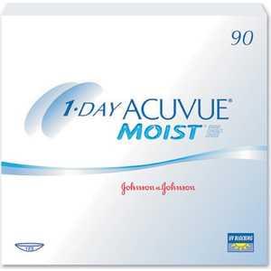 Jonson-Jonson 1 Day Acuvue  moist (90 шт.) 9.0 / +2.5