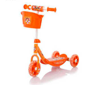 "Самокат Baby Care 3-х колёсный ""3 Wheel Scooter"" cmc008 (orange)"