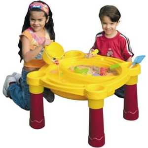 Столик Marian Plast (Palplay) игровой пластиковый 375 песочница бассейн marian plast palplay лодочка желтый 308