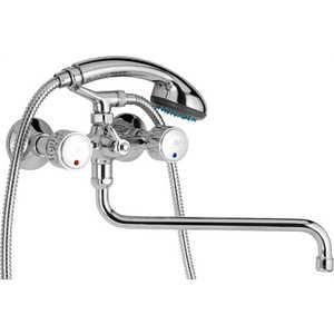Смеситель для ванны Mofem Diamant резина (145-0010-16)  смеситель для ванны mofem mambo с душевой лейкой и шлангом 155 0012 10